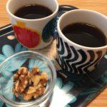 くるみとコーヒー 甘くなるし脂肪も燃える!