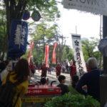 【そうだ金沢、行こう⑤】百万石まつりの行列に遭遇 利家役の高橋克典さんさすがのカッコよさです